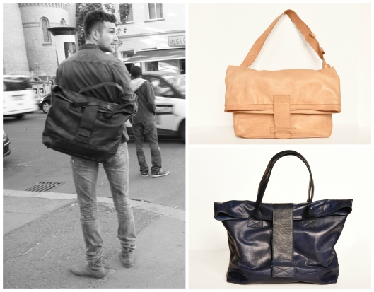 sustainable fashion leather bags