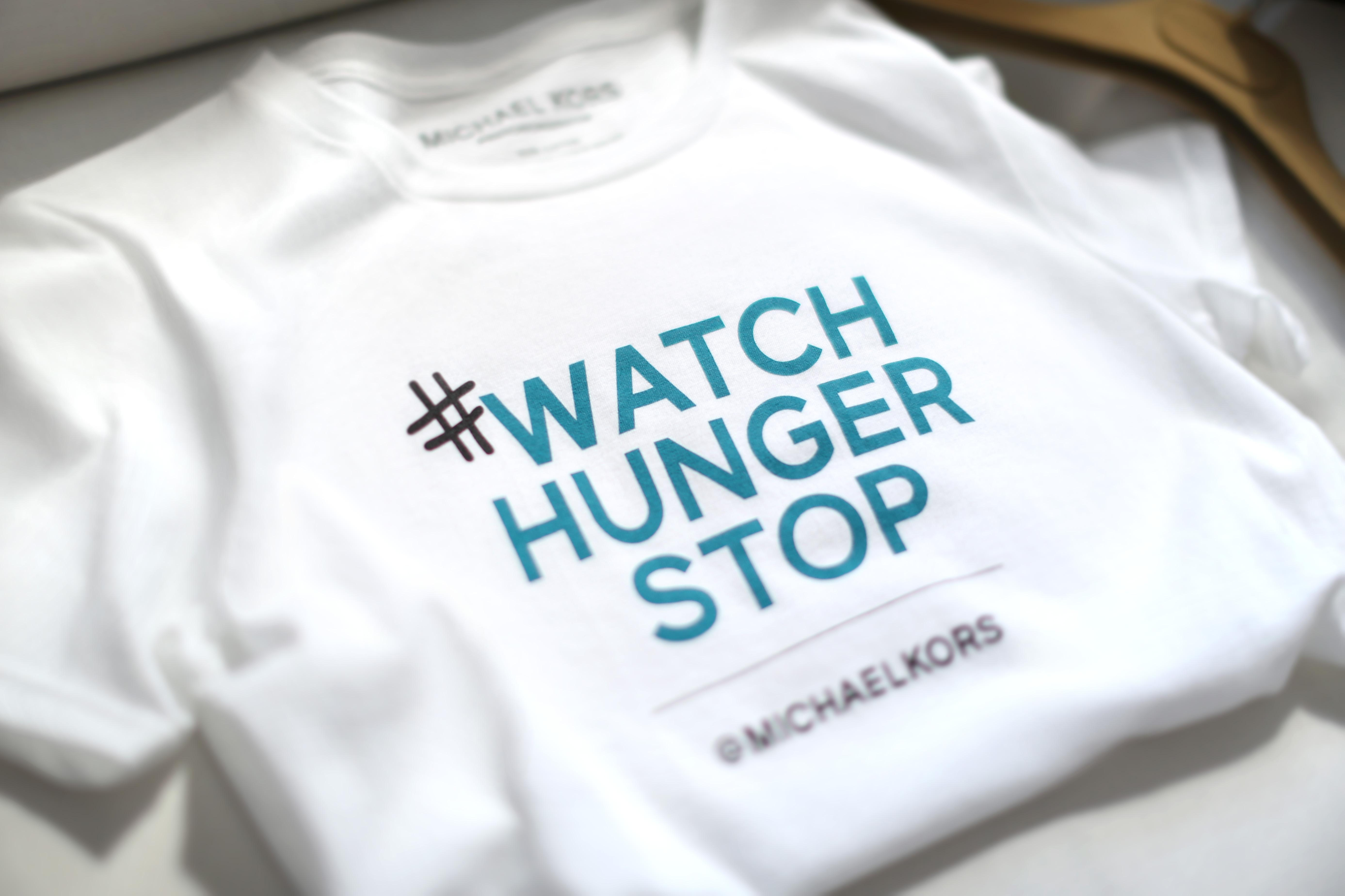 Michael Kors presents his partnership with World Food Programme and